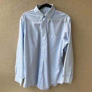 Brooks Brothers Slim Fit Non-Iron Striped Shirt